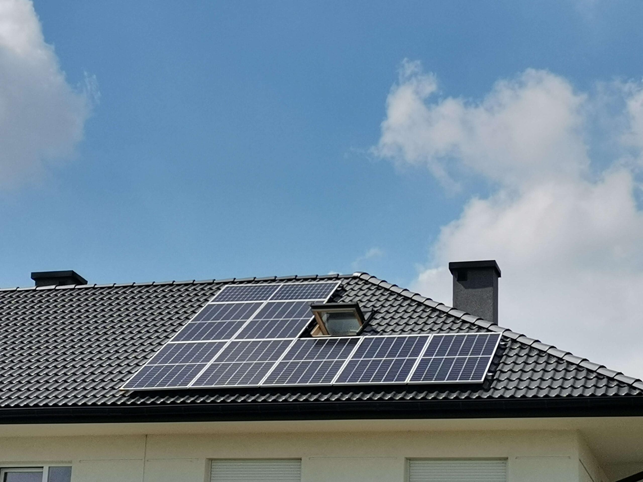 Instalacja fotowoltaiczna 5,785 kWp