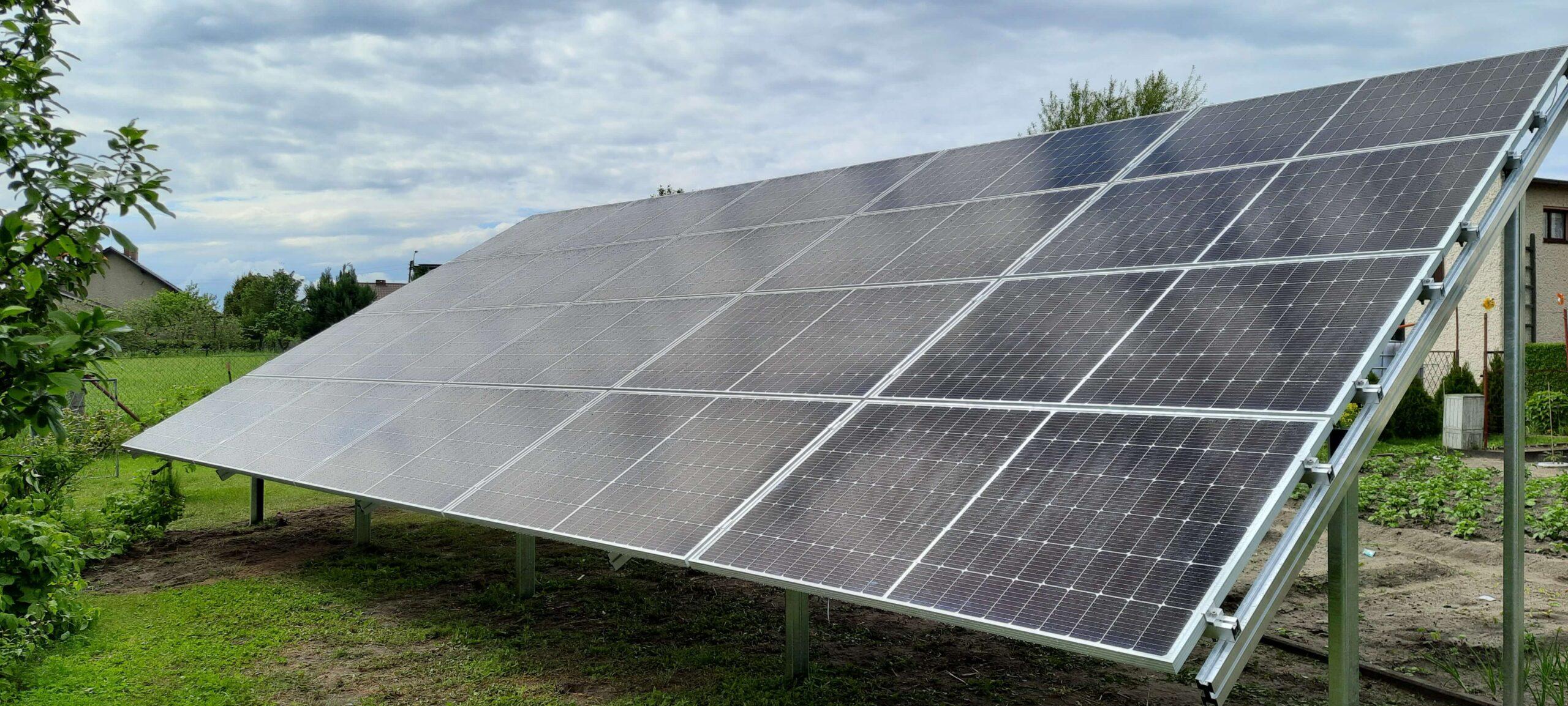 Instalacja fotowoltaiczna 7,4 kWp
